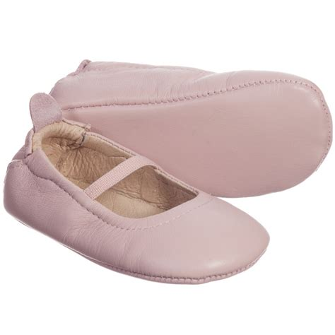 Fuchsia Prewalkerheels soles baby pink leather pre walker shoes childrensalon