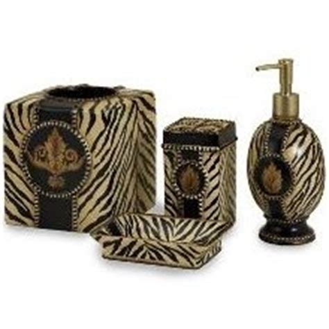 Leopard Print Bathroom Accessories Leopard Bath Animal Print Bathroom Accessories