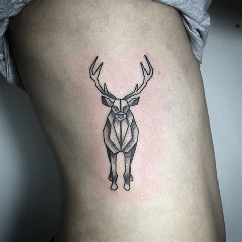 geometric tattoo oxford geometric stag on instagram