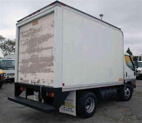 mitsubishi fuso box truck mitsubishi fuso fe649 2001 van box trucks