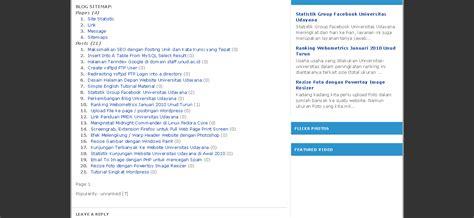 tutorial membuat website dengan wordpress page2 kaskus picas tech tutorial cara membuat sitemap wordpress