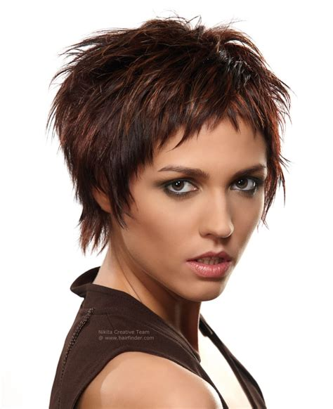 edgy short hairstyle created   cutting techniques