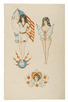 1920s tattoo designs from the maritime museum 180 s collection of approximately 170