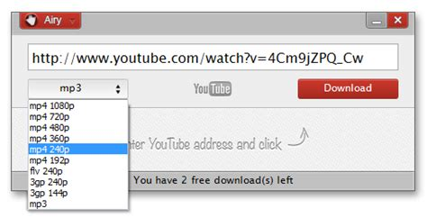 download music from youtube to mp3 google chrome download mp3 sounds from youtube with airy youtube downloader
