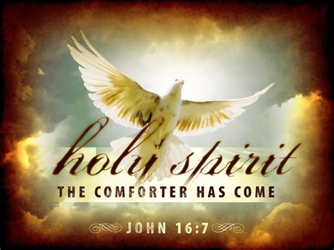 but the comforter which is the holy ghost little plant of st francis the holy spirit the comforter