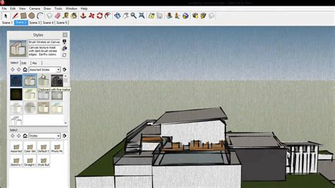 sketchup tutorial walkthrough sketchup animation walkthrough tutorial sketchup