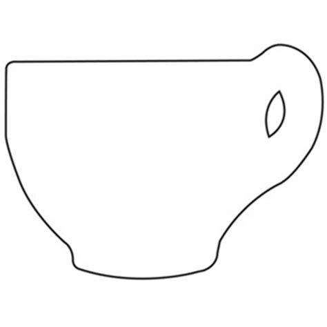 teacup template teacup card templates