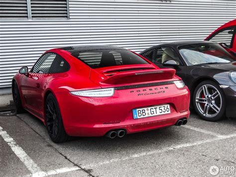 Porsche 991 Gts by Porsche 991 Gts 4 Mrz 2015 Autogespot