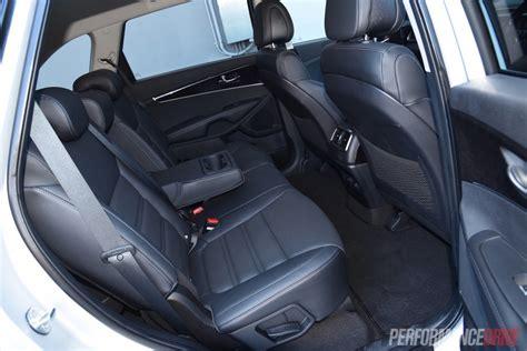 How Many Seats In A Kia Sorento 2015 Kia Sorento Sli V6 Review Performancedrive