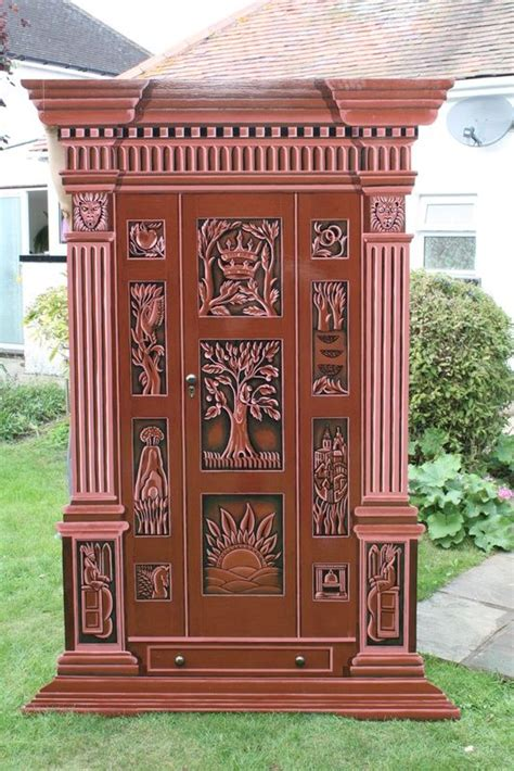 In The Wardrobe by Narnia Wardrobe Painted Narnia Wardrobe Prop