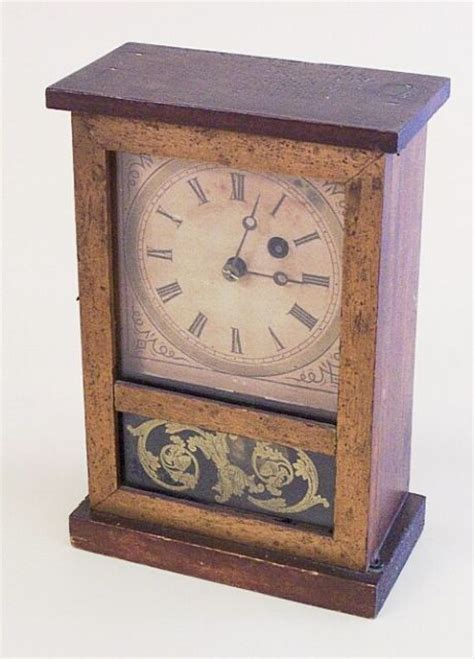 Cottage Clocks by Miniature Cottage Clock Connecticut Maker Ac3018