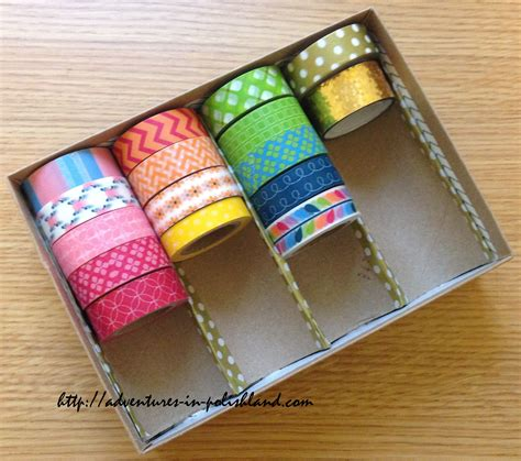 washi tape diy diy washi tape storage birchbox upcycling project