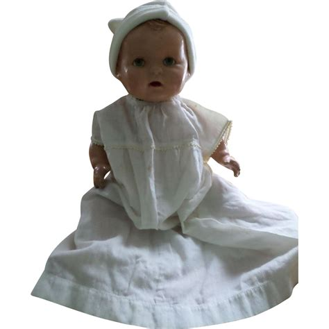 composition baby doll vintage composition baby doll from atticangel on