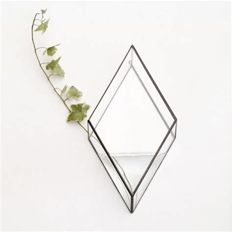 unique angular wall mounted vase digsdigs