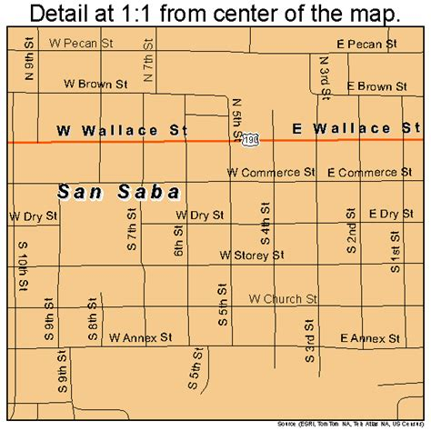 san saba texas map san saba texas map 4865648
