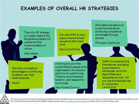 hr strategy strategic human resource management ppt
