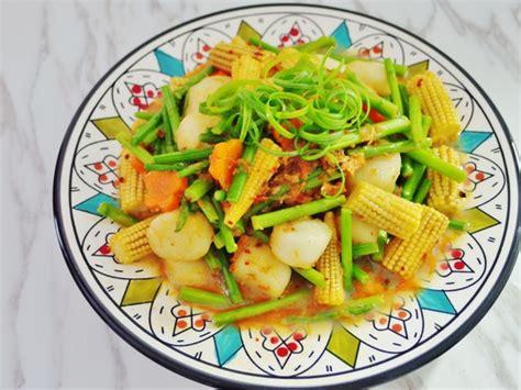 vegetables xo sauce stir fried scallops with xo sauce recipe tomorrow