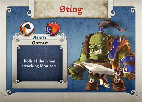 sting card arcadia quest