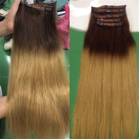 color hair extensions clip in clip in hair extensions ombre color