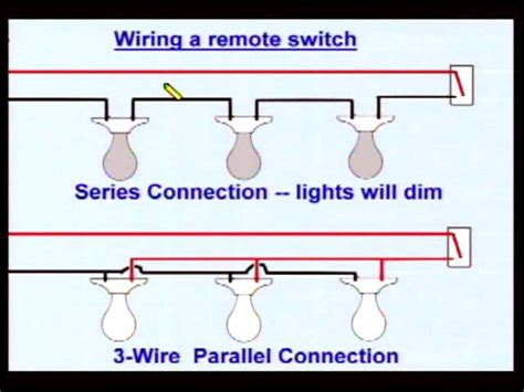 how to wire lights in parallel with switch diagram 50