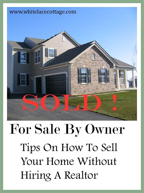 how to sell your house as a for sale by owner fsbo