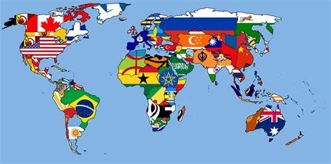 pc globe maps and facts history of flags of the world map