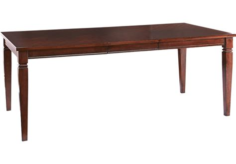 riverdale cherry rectangle dining table dining tables wood