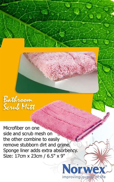 Norwex Bathroom Scrub Mitt Norwex Bathroom Scrub Mitt Www Norwex Antibac Microfiber Fabric On One Side And Scrub