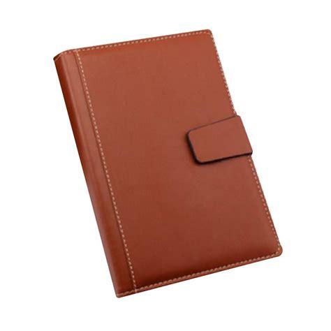 Buku Catatan Kerja Cover Kulit jual kayo coklat 1 buku agenda harga kualitas terjamin blibli