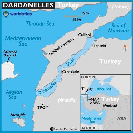 middle east map dardanelles dardanelles strait map and map of the dardanelles strait