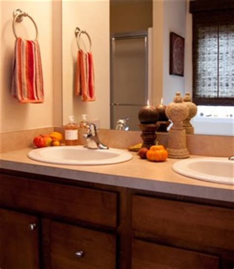 red and yellow bathroom ideas creative bathroom decorating ideas for thanksgiving