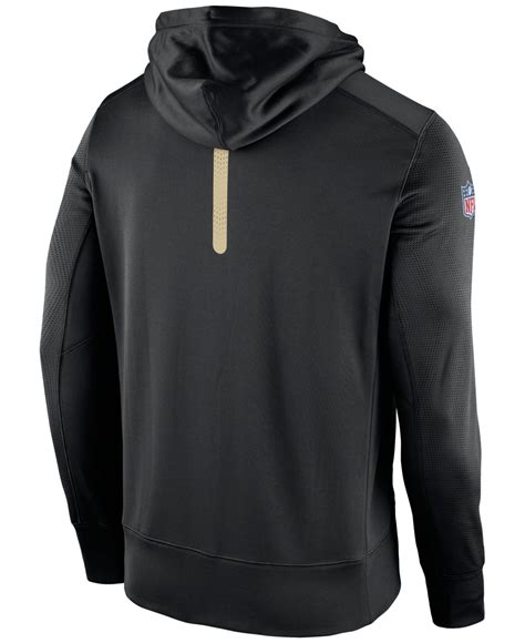 new year nike hoodie nike s new orleans saints sideline ko fleece zip