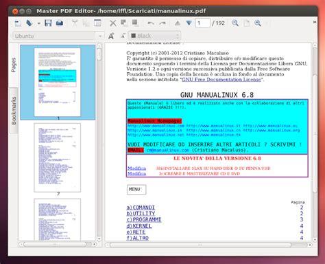 mastering pdf master pdf editor un ottimo editor di pdf e xps per ubuntu