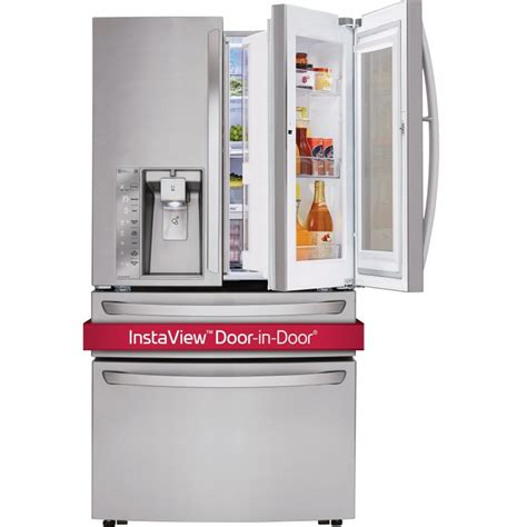 Harga Lg Instaview Door In Door lg lmxs30796s 36 quot door refrigerator with instaview