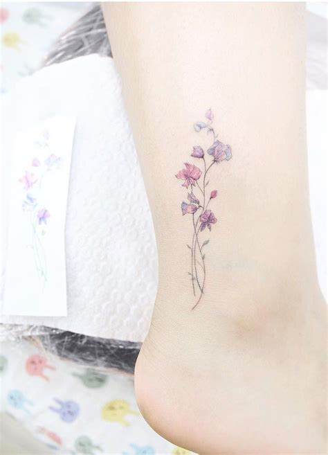 feminine small tattoos sweet pea small tattoos are for and