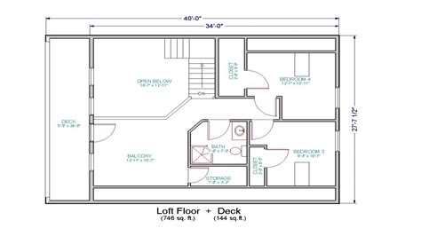 open floor plan with loft small house floor plans with loft small cottage house