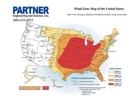 usa wind map wind zone map