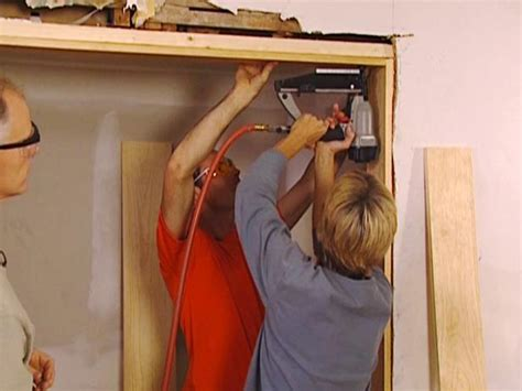 How Install A Door Frame by How To Install A New Door Jamb How Tos Diy