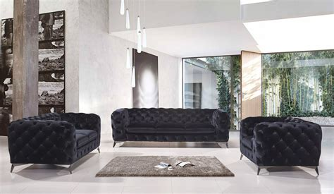 black velvet tufted sofa delilah black velvet tufted sofa set