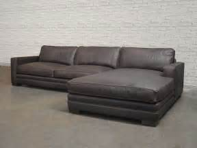 las vegas leather sectional sofa top grain aniline leather