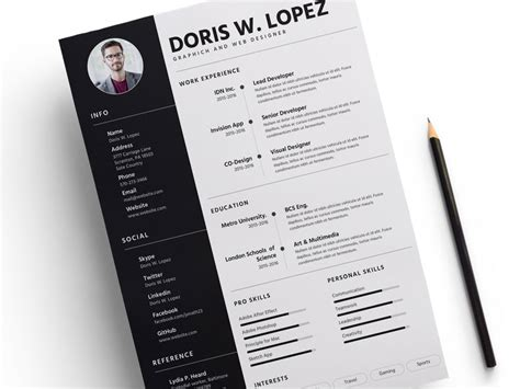 Resume Template Sketch Freebie Download Free Resource For Sketch Sketch App Sources Sketch Resume Template