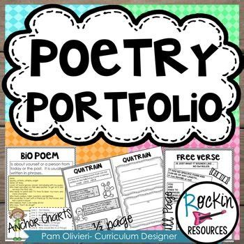 poetry booklet template 25 best ideas about poetry anchor chart on
