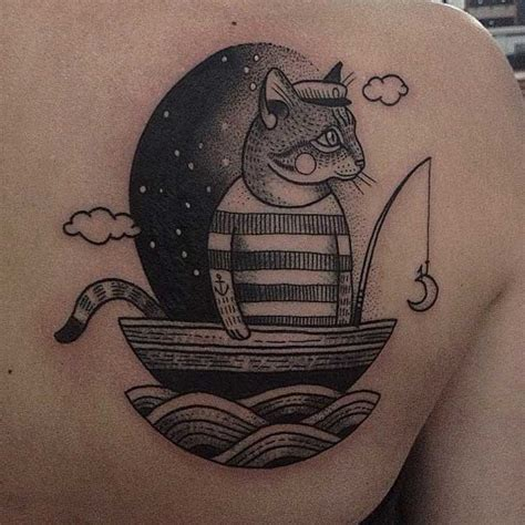 dotwork cat tattoo 35 unbelievable cat tattoos that are guaranteed to leave