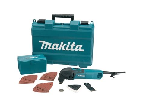 Multi Cutter Makita makita tm3000cx4 110v multi tool cutter and 33 accessories