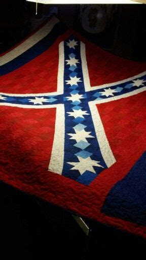 Confederate Flag Quilt by By Joyce Spangler Http Shoppingcart Quiltpatternsnow