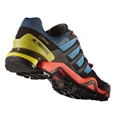 adidas terrex fast r mens blue black tex waterproof walking hiking shoes ebay