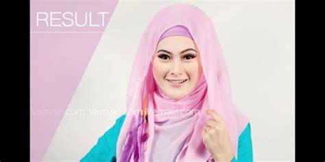 Jilbab Rabbani Warna Pink kreasi jilbab segi empat warna pink brekelesix s