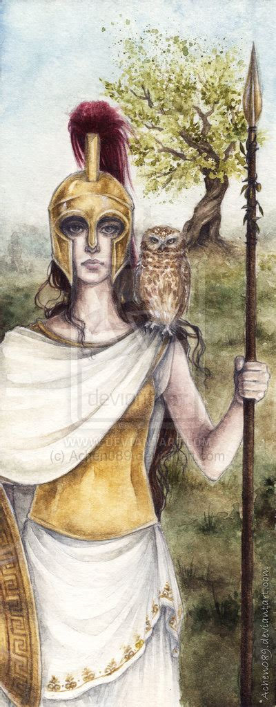 did athena get along with the other gods a mixed character is you thread the seventh page 2