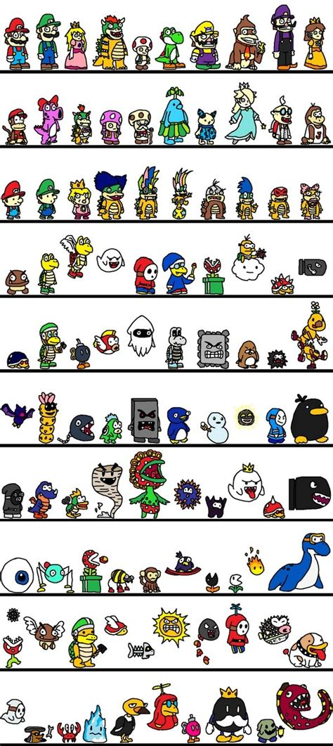 100 Mario characters   Games   Pinterest   Classic, Mario and The o'jays