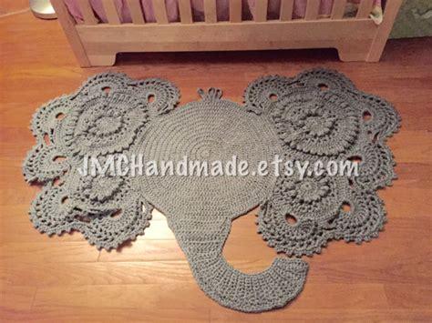 nursery elephant rug crochet elephant rug nursery rug crochet rug